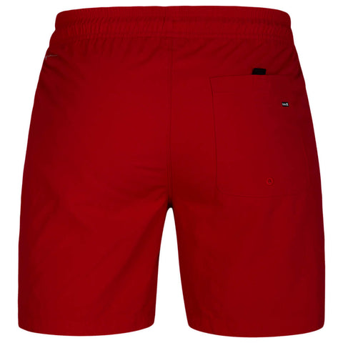 HURLEY MEN'S DRI FIT CONVOY VOLLEY 17'' SHORT GYM RED BACK