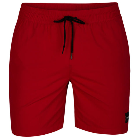 HURLEY MEN'S DRI FIT CONVOY VOLLEY 17'' SHORT GYM RED