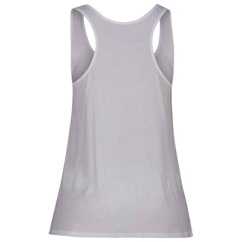 HURLEY WOMEN'S SOLID PERFECT TANK WHITE BACK