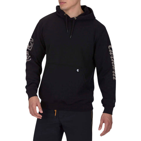 HURLEY MEN'S CARHATT HURLEY MEN'S OG FLEECE PULLOVER LONG SLEEVE BLACK MODEL