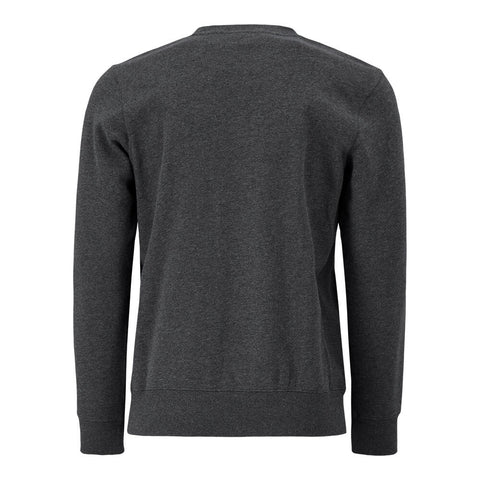 HURLEY MEN'S THERMA PROTECT FLEECE CREW BLACK HEATHER