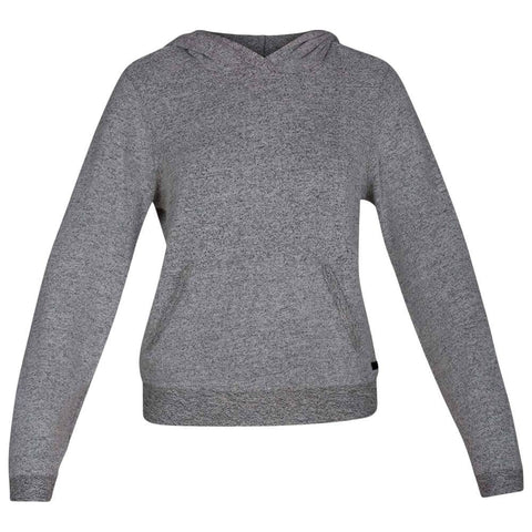 HURLEY WOMEN'S CHILL FLEECE PULLOVER BLACK