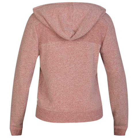 HURLEY WOMEN'S CHILL FLEECE PULLOVER DUSTY PEACH BACK