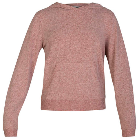 HURLEY WOMEN'S CHILL FLEECE PULLOVER DUSTY PEACH