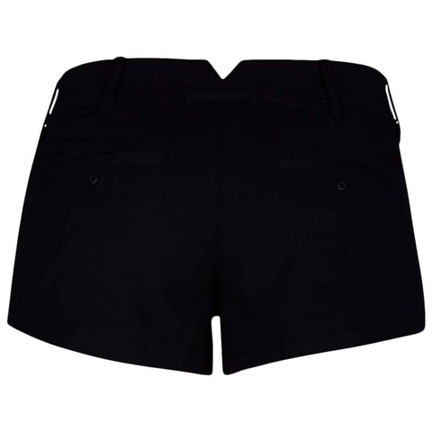 HURLEY WOMEN'S LOWRIDER CHINO SHORT BLACK BACK
