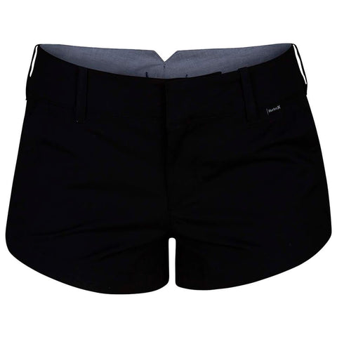HURLEY WOMEN'S LOWRIDER CHINO SHORT BLACK