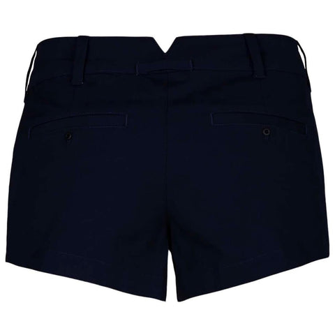 HURLEY WOMEN'S LOWRIDER CHINO SHORT OBSIDIAN BACK