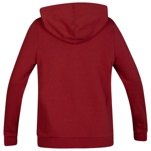 HURLEY WOMEN'S ONE AND ONLY FLEECE PULLOVER LONG SLEEVE TOP CEDAR BACK