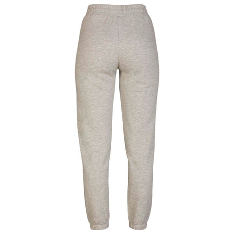 HURLEY WOMEN'S ONE AND ONLY FLEECE JOGGER GREY HEATHER BACK