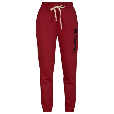 HURLEY WOMEN'S ONE AND ONLY FLEECE JOGGER CEDAR