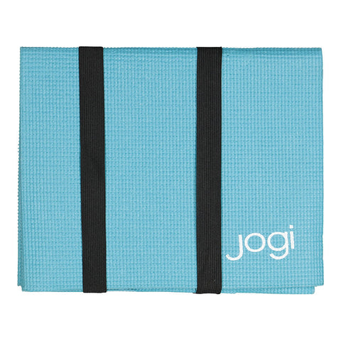 JOGI FOLDABLE YOGA MAT BLUE