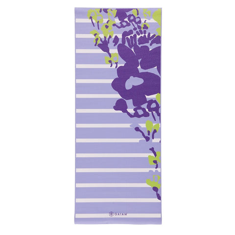 GAIAM KIDS YOGA MAT PURPLE FLOWER