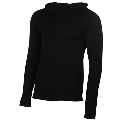 ADIDAS MEN'S TF CW HOODY 1/2 ZIP BLACK