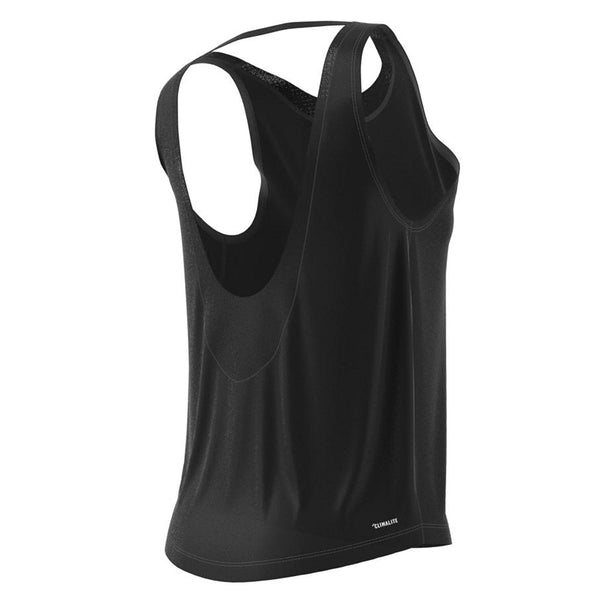 abaa455c264f6d ADIDAS WOMEN S LOW BACK TANK BLACK – National Sports