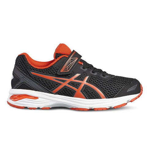 ASICS BOYS PRE-SCHOOL GT-1000 5 KIDS SHOE BLACKVERMILIONCARBON 209827