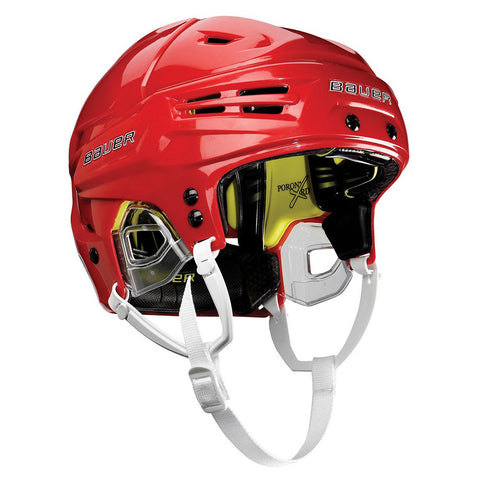 BAUER RE-AKT HELMET RED LRG