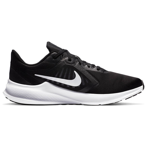NIKE MEN'S DOWNSHIFTER 10 4E RUNNING SHOE BLACK/BLACK/IRON GREY