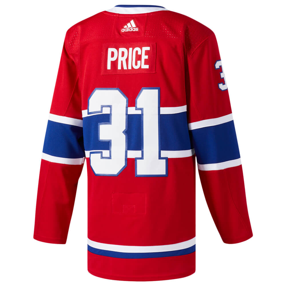 08ce4acbd0c ADIDAS MEN'S MONTREAL CANADIENS AUTHENTIC PRO PRICE HOME JERSEY RED ...