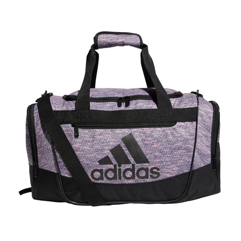 ADIDAS DEFENDER II SMALL DUFFEL TRUE PINK JERSEY/BLACK
