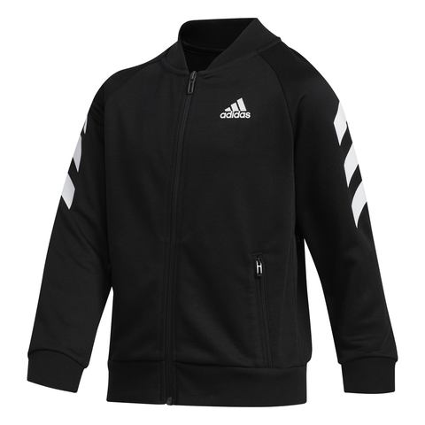 ADIDAS BOY'S FRANCHISE BOMBER JACKET BLACK