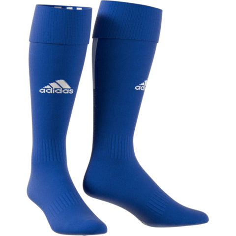 ADIDAS SANTOS 18 BLUE MEDIUM SOCCER SOCK (7-8.5)