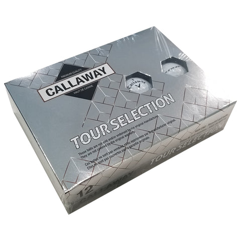 CALLAWAY TOUR SELECTION RECYCLED GOLF BALLS 12 PACK