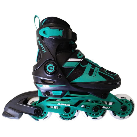 CAPIX PEACEKEEP GIRLS ADJUSTABLE INLINE SKATES SIZES 10-13