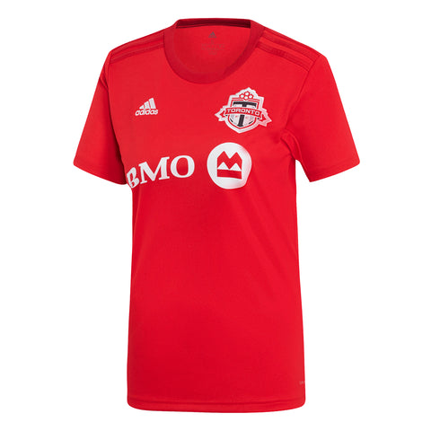 ADIDAS WOMEN'S TFC 7415W REPLICA SHORT SLEEVE JERSEY RED