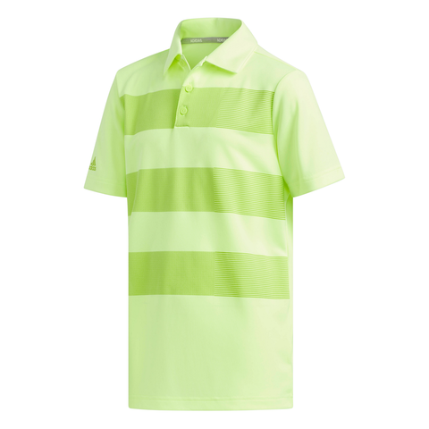 ADIDAS BOYS' MERCH POLO HI-RES YELLOW