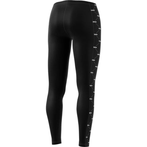 ADIDAS WOMEN'S CORE FAVE LEGGING BLACK/WHITE