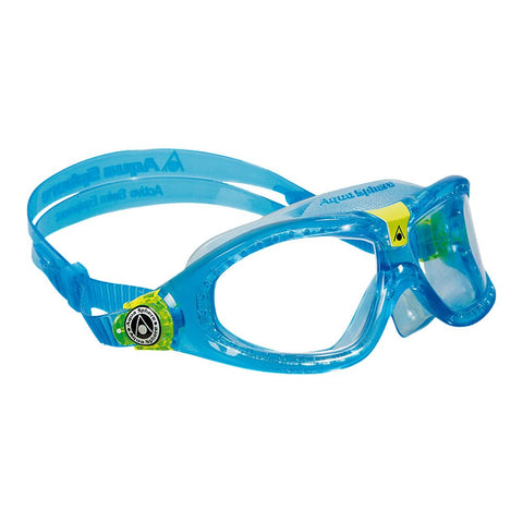 AQUA SPHERE JUNIOR SEAL KIDS 2 GOGGLES AQUA/LIME