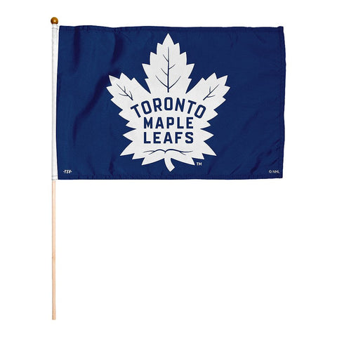 THE SPORTS VAULT TORONTO MAPLE LEAFS STICK FLAG