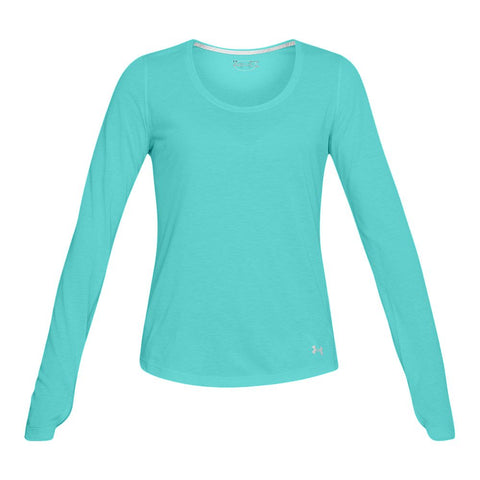 UNDER ARMOUR W THREADBORNE STREAKER LS TOP TIDE