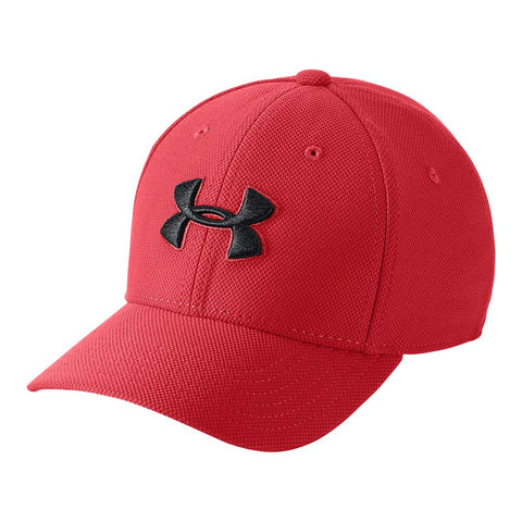 UNDER ARMOUR YOUTH BLITZING 3.0 CAP RED/BLACK