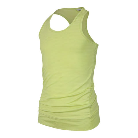 DIADORA GIRLS' BANDED TANK LIME
