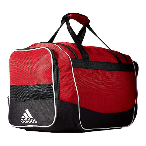 ADIDAS DEFENDER II MED DUFFEL RED