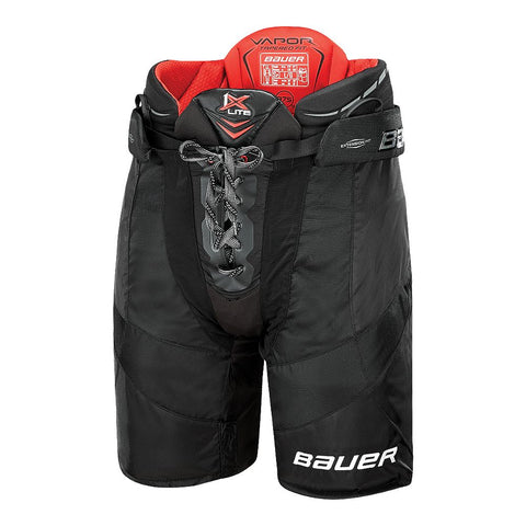 BAUER VAPOR 1X LITE SR HOCKEY PANTS BLACK