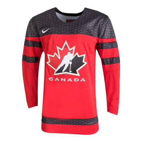 NIKE MEN'S TEAM CANADA REPLICA JERSEY RED