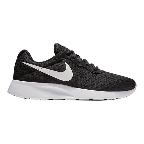 NIKE WOMEN'S TANJUN RUNNING SHOE BLACK/WHITE