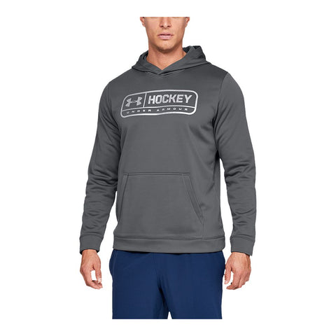 UNDER ARMOUR MEN'S HOCKEY JOCK TAG HOODY