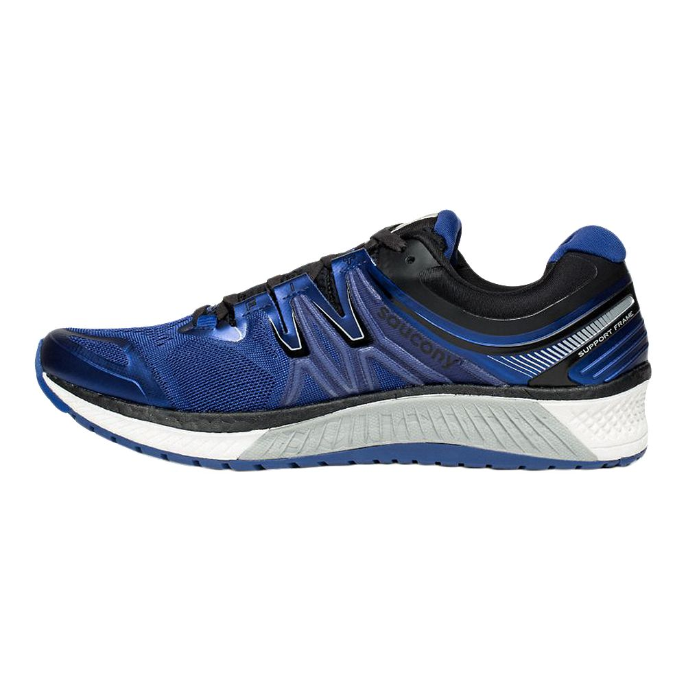 new styles 92409 cd852 SAUCONY MEN'S EVERUN HURRICANE ISO 4 RUNNING SHOE BLUE/BLACK