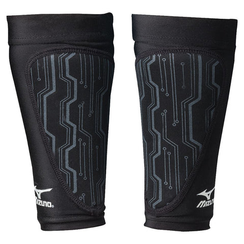 MIZUNO VOLLEYBALL PRACTICE PLATFORM SLEEVES BLACK