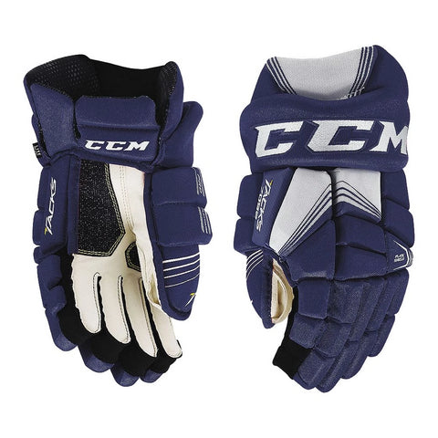 CCM 7092 JR HOCKEY GLOVES NAVY