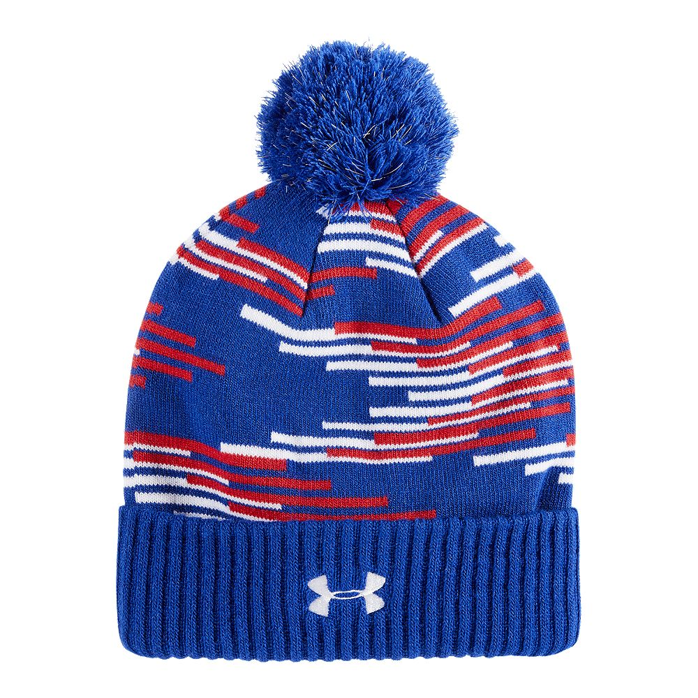 893631e2e11 UNDER ARMOUR BOYS JAYS POM BEANIE BLUE – National Sports
