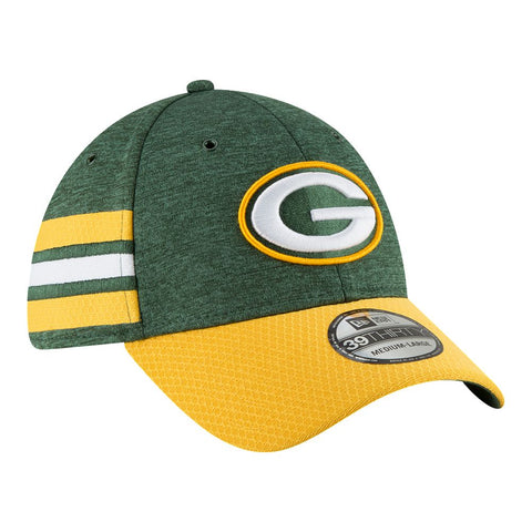 NEW ERA M 18 OFFICIAL SIDELINE HOME 3930 CAP PACKERS