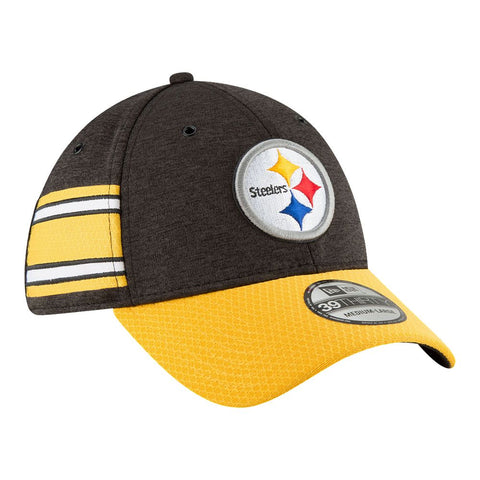 NEW ERA M 18 OFFICIAL SIDELINE HOME 3930 CAP STEELERS