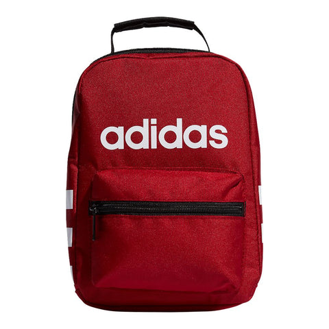ADIDAS SANTIAGO LUNCH BAG ACTIVE MAROON WHITE