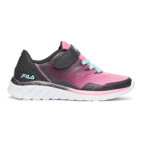 FILA GIRLS PRE-SCHOOL COUNTDOWN 9 AC-STRAP KIDS SHOE SUGAR/BLACK/BLUE