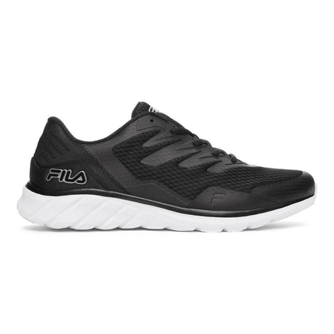 FILA MEN'S MEMORY COUNTDOWN 9 RUNNING SHOE BLACK/SILVER/WHITE