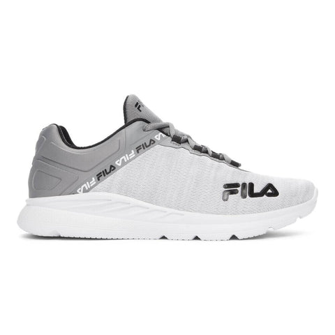FILA MEN'S MEMORY ELECTRAXIS 20 RUNNING SHOE WHITE/BLACK